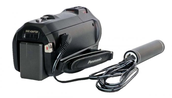 Videokamera Panasonic HC-V770 nabijení pomocí PowerBanky