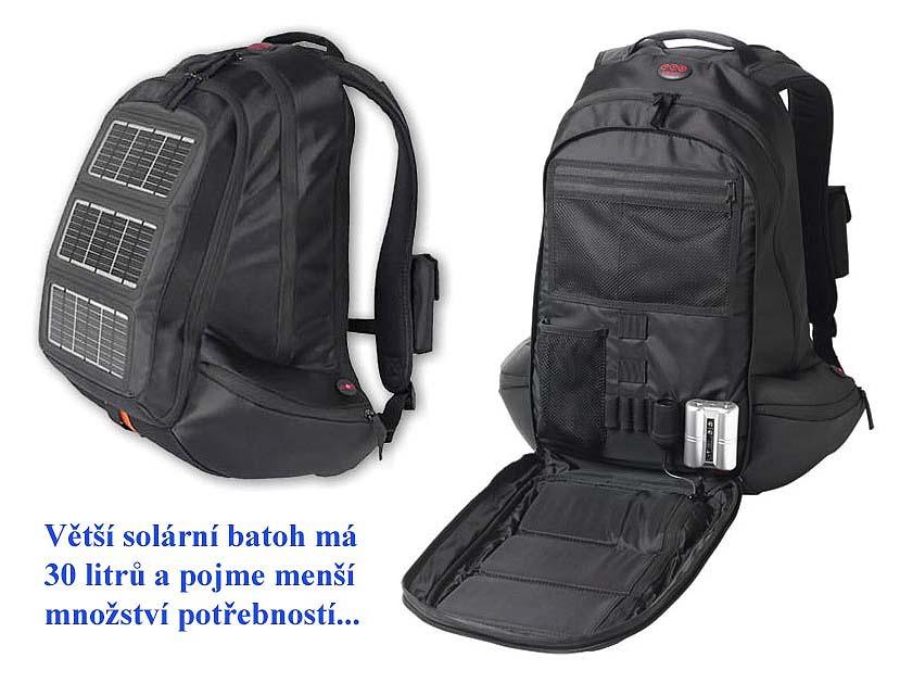 f9bd8e9d868 Větší typ solárního batohu  30 litrů (Klikni pro zvětšení)