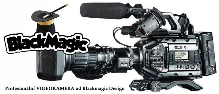 Jeden z HIGH-modelů Videokamer Blackmagic Design