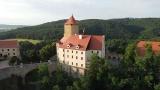 DJi Mini 2 nad hradem Veveří...